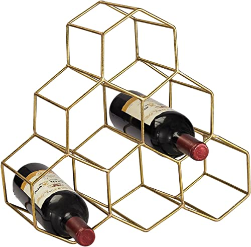 Elk Home Angular Study Hexagonal Wine Rack