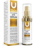 PREMIUM Anti Ageing Eye Serum for Dark Circles & Puffiness - The Best Anti Wrinkle Eye Serum - Clinical Strength - Reduces Wrinkles, Bags, Saggy Skin & Puffy Eyes! High Quality Ingredients - Q10 - Matrxyl 3000 - Great Eye Treatment For All Types Of Skin. 100% Satisfaction or Your Money Back Guarantee.