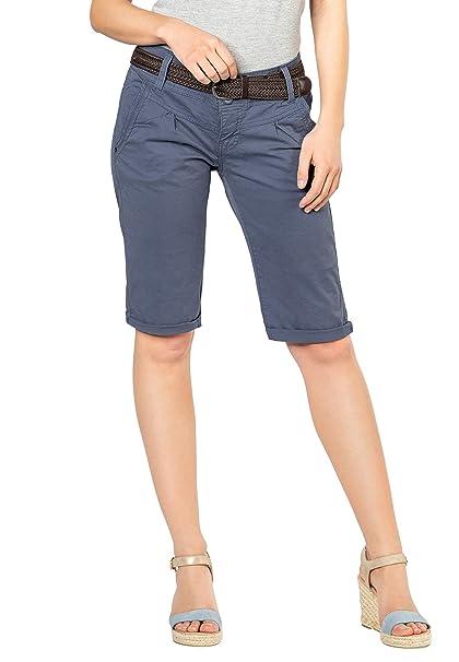 cacf8d64ca0fe Fresh Made Damen Bermuda-Shorts im Chino Style | Elegante Kurze Hose ...