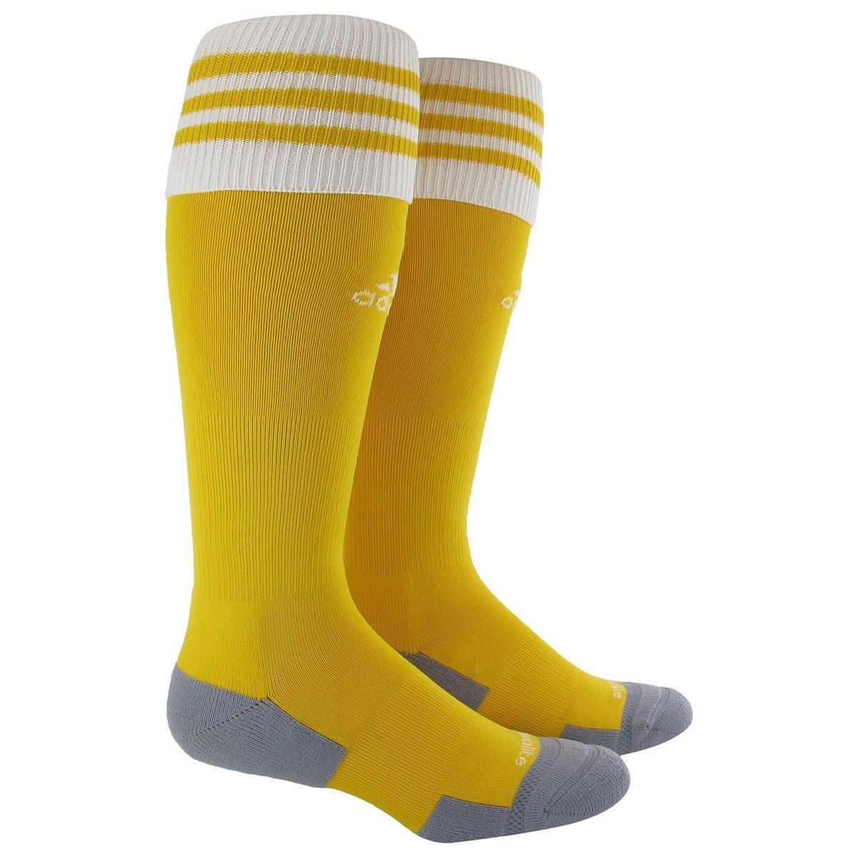 adidas Copa Zone Cushion II Sock, Sunshine/White, Large by adidas