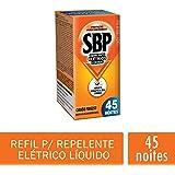 Repelente Elétrico Liquido 45 Noites Refil Regular, SBP