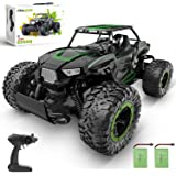 BEZGAR 18 Toy Grade 1:14 Scale Remote Control Car, 2WD High Speed 20 Km/h All Terrains Electric Toy Off Road RC Monster Vehic