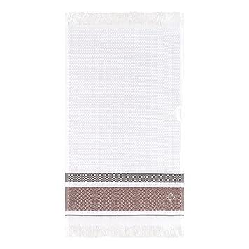 Le Jacquard Francais Toalla Invitados Folk, algodón Peinado, Camel, 50 x 30 x 0,1 cm: Amazon.es: Hogar