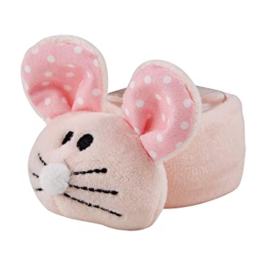 Stephan Baby Ouch Mouse Comfort Toy + Boo Cube, Pink : Baby