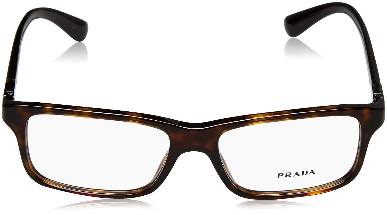 db9364f4bcf05 Prada Montures de lunettes Pour Homme 06S V - 2AU-1O1  Tortoise - 54mm   Amazon.fr  Vêtements et accessoires