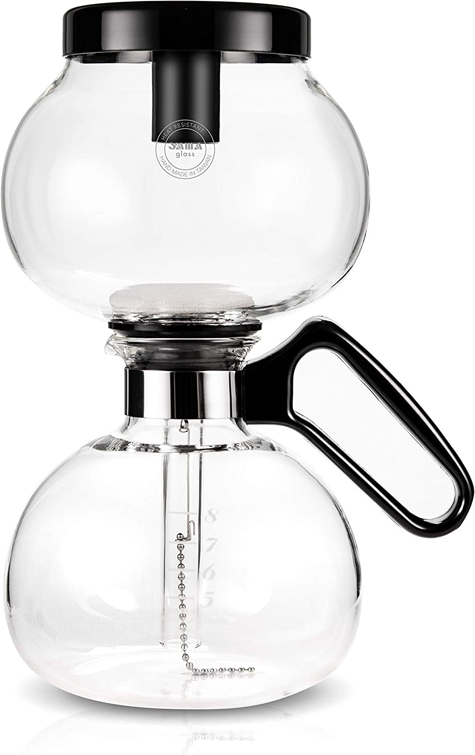 Yama Glass 8 Cup Stovetop Coffee Siphon