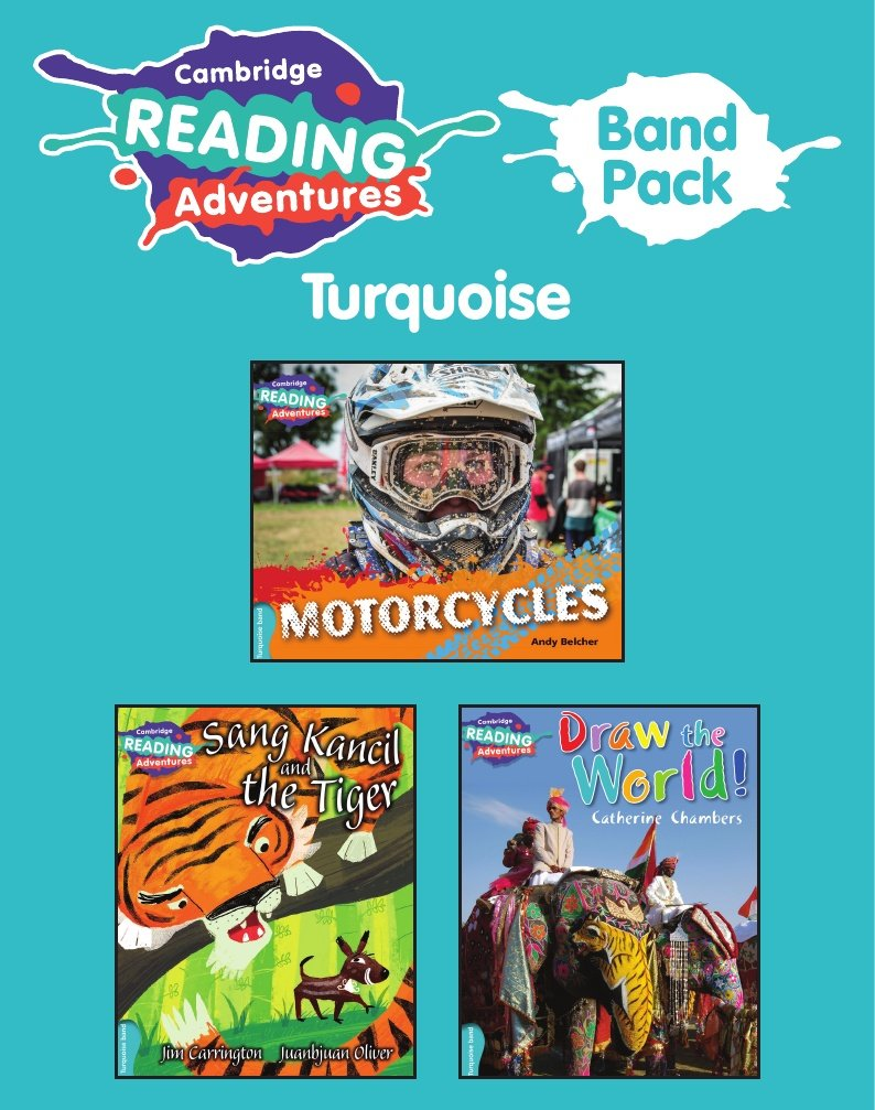 Cambridge Reading Adventures Turquoise Band Pack of 8 PDF