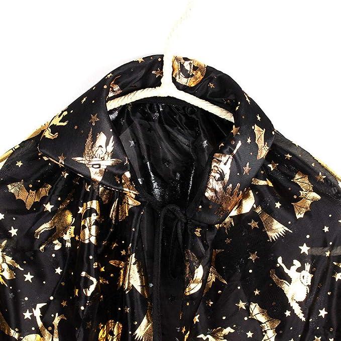 NPRADLA 2018 Damen Cos Mantel Mantel Wicca Robe mittelalterlichen Cape  Schal Halloween Hexe Party + Hut Set  Amazon.de  Bekleidung fbeef515af