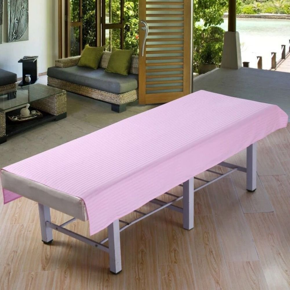 LWZY Linens Massage table sheet,waterproof sheets,spa linens,set of 2, salon sheets/massage bed sheets-B 180x80cm(71x31inch)