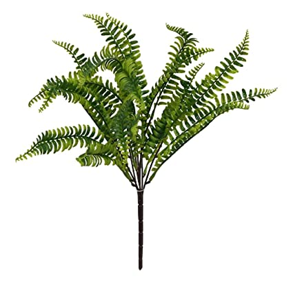 Amazon boston fern 19 bush greenery filler silk flowers boston fern 19quot bush greenery filler silk flowers centerpieces home decoration mightylinksfo