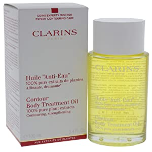 Clarins Body Treatment Oil Contouring for Unisex, 3.4 Ounce