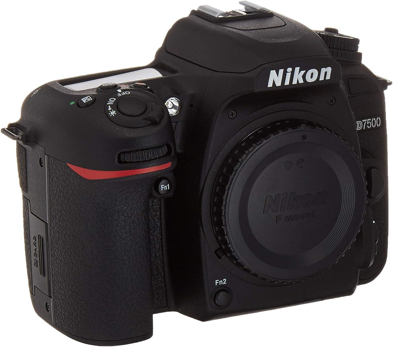 Nikon D7500 Body Digital SLR Camera, 3.2Inc. - Black (Renewed)
