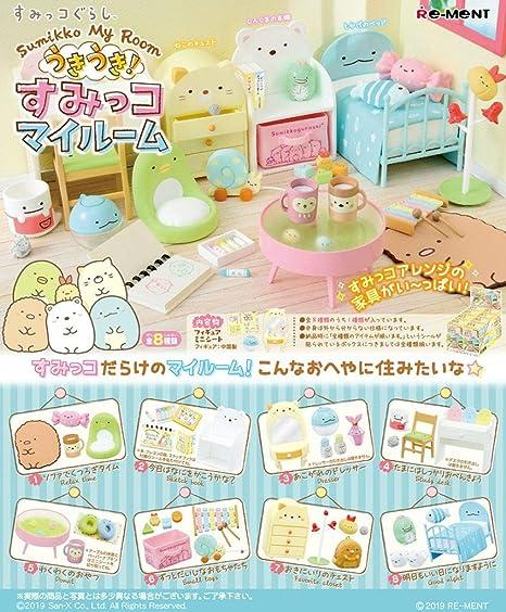Re-Ment Miniature Japan Sumikko Gurashi Starry Sky Camp Full Set 8 pieces