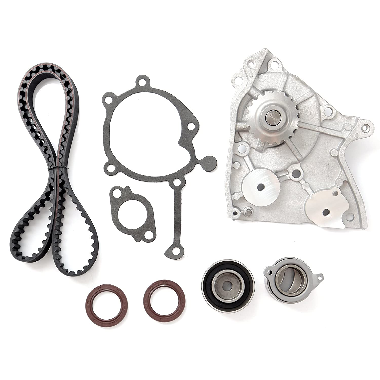 amazon com: timing belt water pump tensioner kit, eccpp for 1987-1993 ford  probe mazda 626 b2200 mx-6 12v 2 2l sohc eng code f2g f2l f2-t: automotive