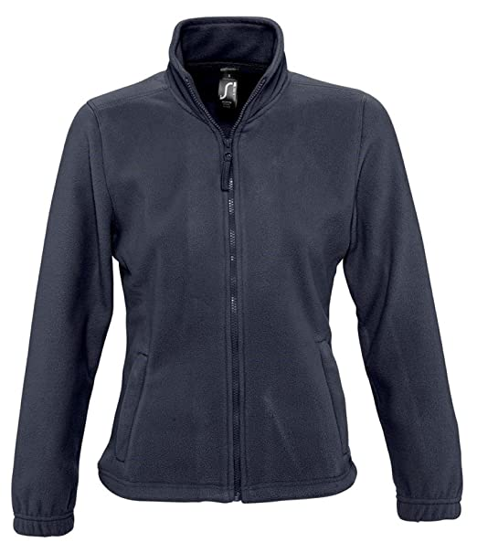 SOLS Mujer North chaqueta de forro polar, Mujer, color azul ...