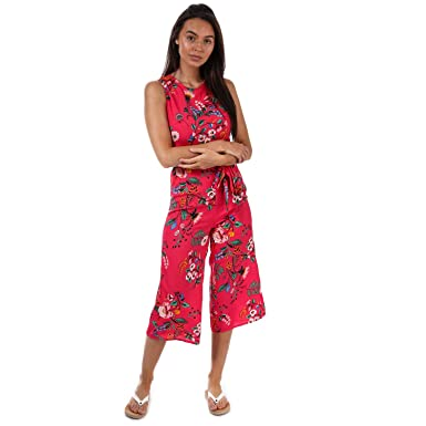 f85bdc2a0b2 Brave Soul Womens Womens Floral Jumpsuit in Pink - 14  Brave Soul   Amazon.co.uk  Clothing