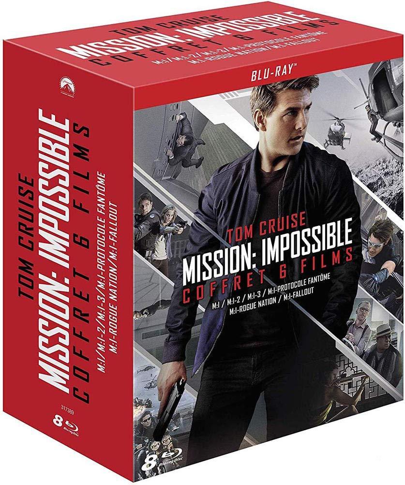 Mission : Impossible - Lintégrale des 6 films Francia Blu-ray ...