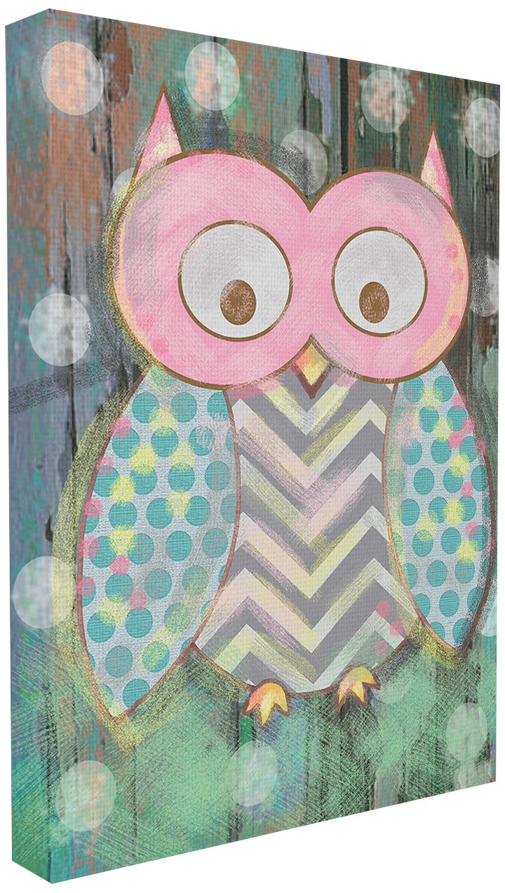 The Kids Room by Stupell Distressed Woodland Owl Wall Plaque, 24 x 30 by The Kids Room by Stupell