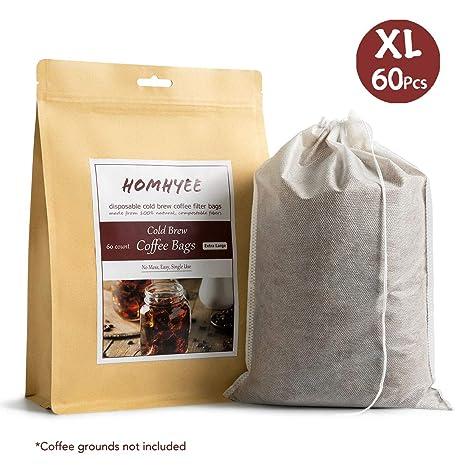 Amazon.com: No Mess filtros de café en frío – 120 unidades ...