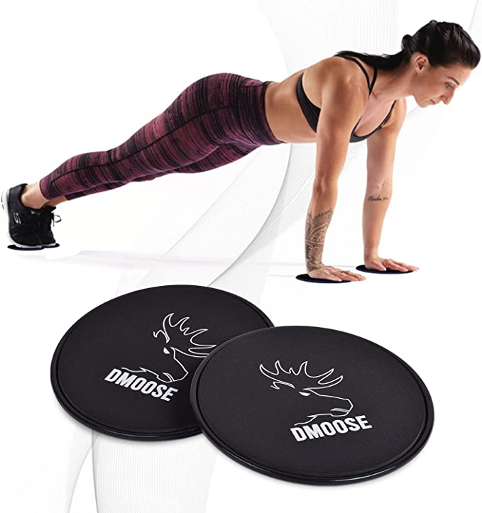 Details about  /Workout Fitness Sliders Exercise Sliding Gliding Disc Pad Core Home Gym Training
