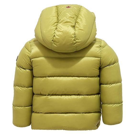 sale retailer b7be2 69fb6 CANADIENS 1357V piumino bimbo verde acido jacket kid [12 ...