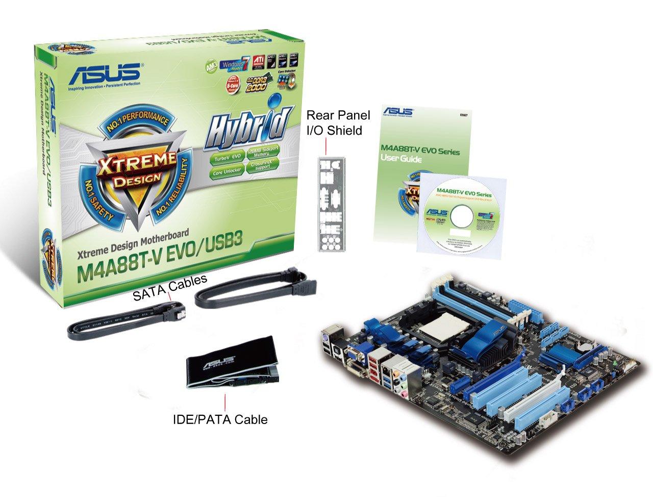 Asus M4A88T-V EVO/USB3 AMD SATA RAID/AHCI Drivers Windows 7