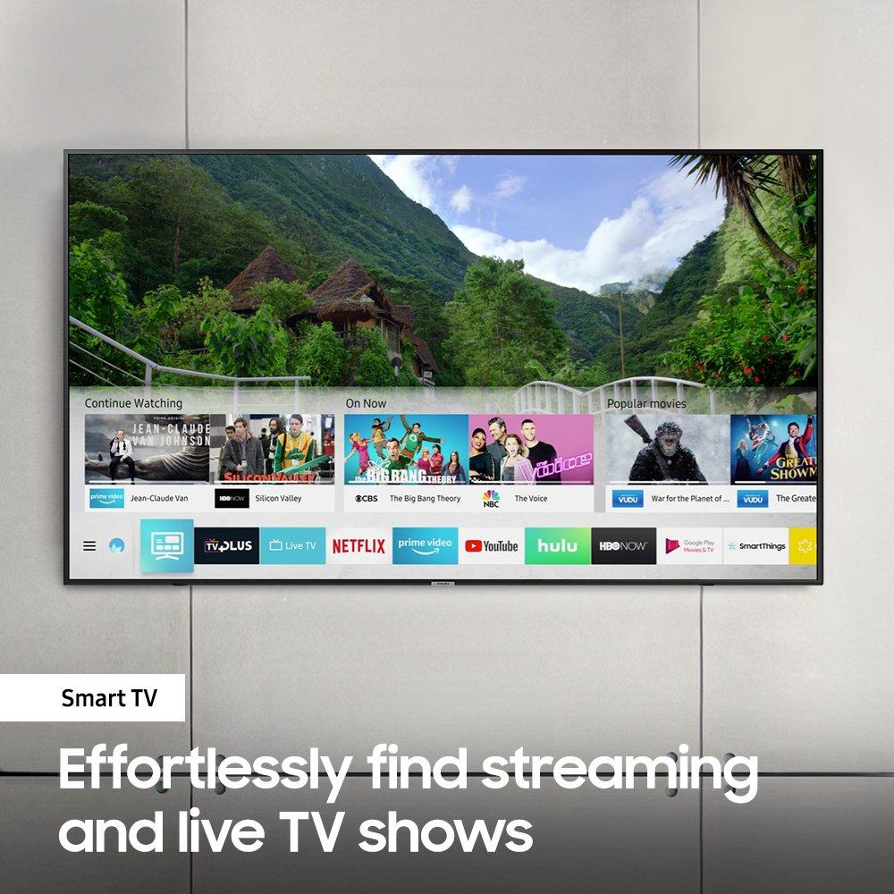 Samsung UN50NU7100 Flat 50'' 4K UHD 7 Series Smart TV 2018 by Samsung (Image #8)