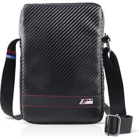 BMW Motorsport Collection - Bolsa de Bandolera para Apple iPad Air, Negro