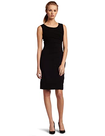 930dd62bb9052 Calvin Klein Women s Sleeveless Ponte Dress at Amazon Women s ...
