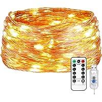 LE Guirnalda de Luces 20m 200 LED Conexión
