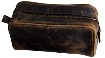 Image Unavailable. Image not available for. Color  Leather Toiletry Bag for  Men ... cdacc3f76d31c