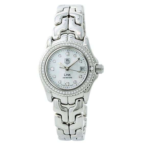1ddf1098514 Tag Heuer Link Quartz Female Watch WT141J (Certified Pre-Owned)  Tag Heuer   Amazon.ca  Watches