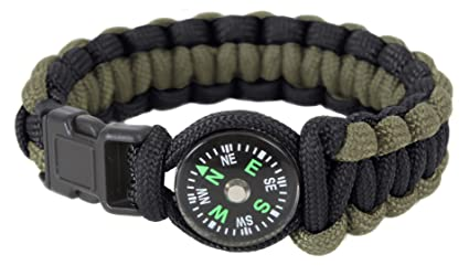 Image Unavailable. Image not available for. Color  Rothco Paracord Compass  Bracelet ... d8e8530bd6e