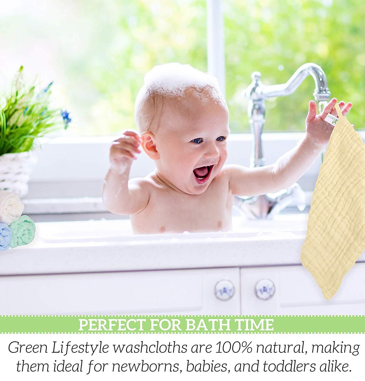 Beb/é Pa/ñuelo Para Ni/ños 100/% Algod/ón de Dibujos Muselinas de Algod/ón para Beb/é Toalla Facial Infantil Beb/é Pa/ñuelo Para Ni/&nti Muselinas Organicas para Bebe Toallitas para beb/é de muselina