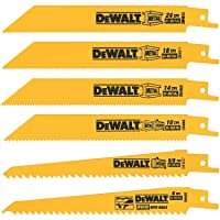 Deals on DEWALT DW4856 Metal Reciprocating Saw Blade Set, 6-Piece