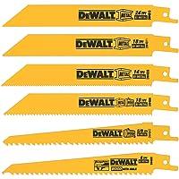 DEWALT DW4856 Metal Reciprocating Saw Blade Set, 6-Piece