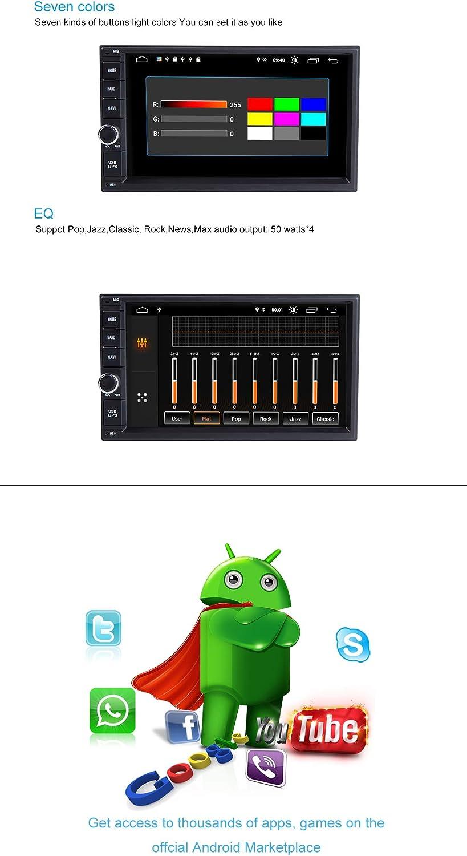 ZLTOOPAI 2 din Android 9.0 universal autoradio Radio f/ür Nissan Qashqai x-Trail almera Hinweis Juke mit 7 Zoll Touchscreen Bluetooth GPS Navigation unterst/ützung WiFi Spiegel link aux Backup Kamera