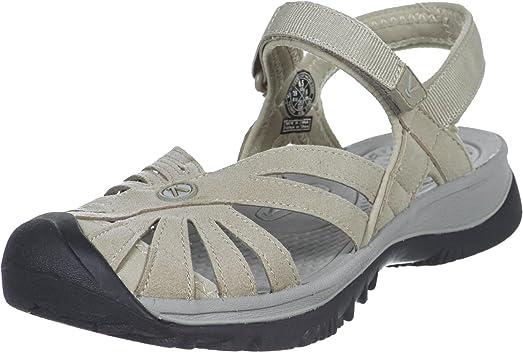 Rose Ladies Sandal Grey US4.5