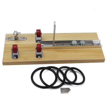 DROK® Botella de vidrio cortador de madera Junta de bricolaje Kit de herramientas, botellas