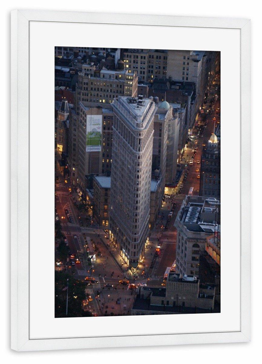Amazon.de: artboxONE Poster mit Rahmen Schwarz (Metallic) 45x30 cm ...