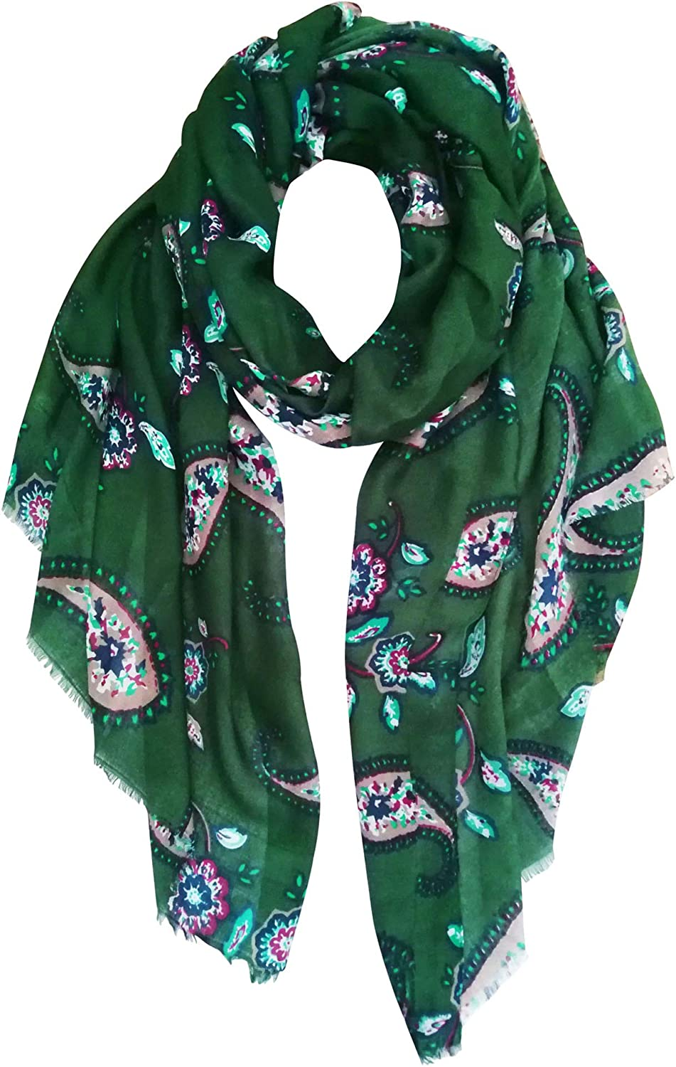 GERINLY Paisley Scarves...
