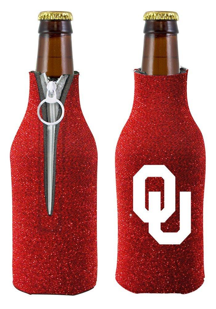 Multicolor One Size Kolder NCAA Oklahoma Glitter Bottle Coolie
