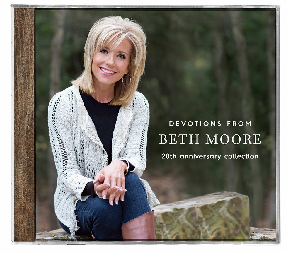 Devotions from beth moore 20th anniversary collection beth moore devotions from beth moore 20th anniversary collection beth moore 9781430043362 amazon books voltagebd Choice Image