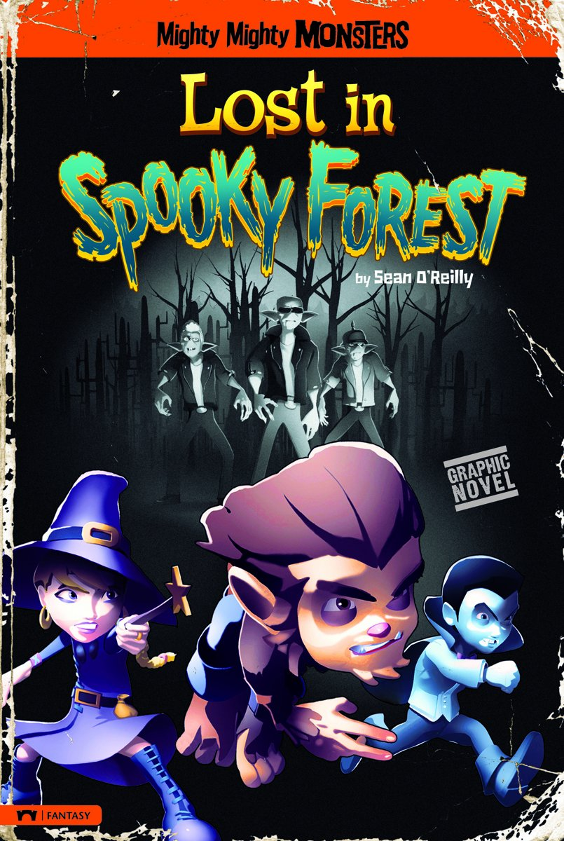 Read Online Lost in Spooky Forest (Mighty Mighty Monsters) PDF