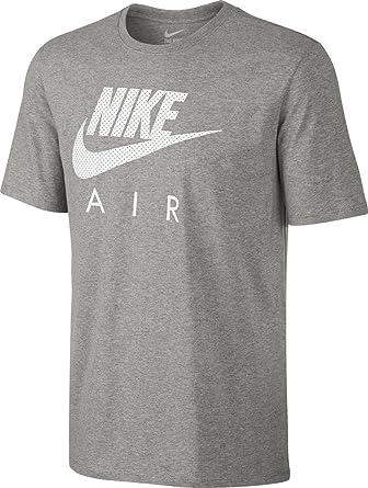 Nike AIR HERITAGE mens athletic-shirts 799342-063_2XL - DK GREY HEATHER/DK