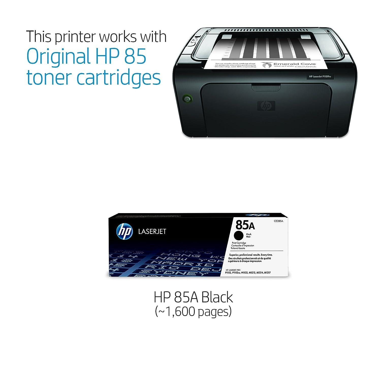 amazon com hp laserjet pro p1109w monochrome printer ce662a