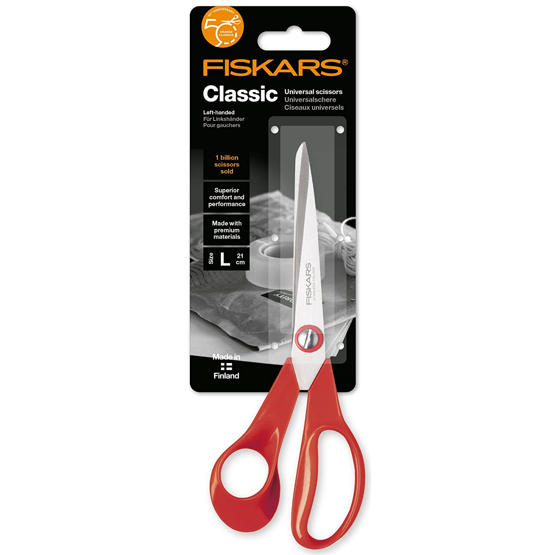 Sinnvoll Wedo Allzweckschere Für Linkshänder 14 Cm Bastelschere Schere Softgriff