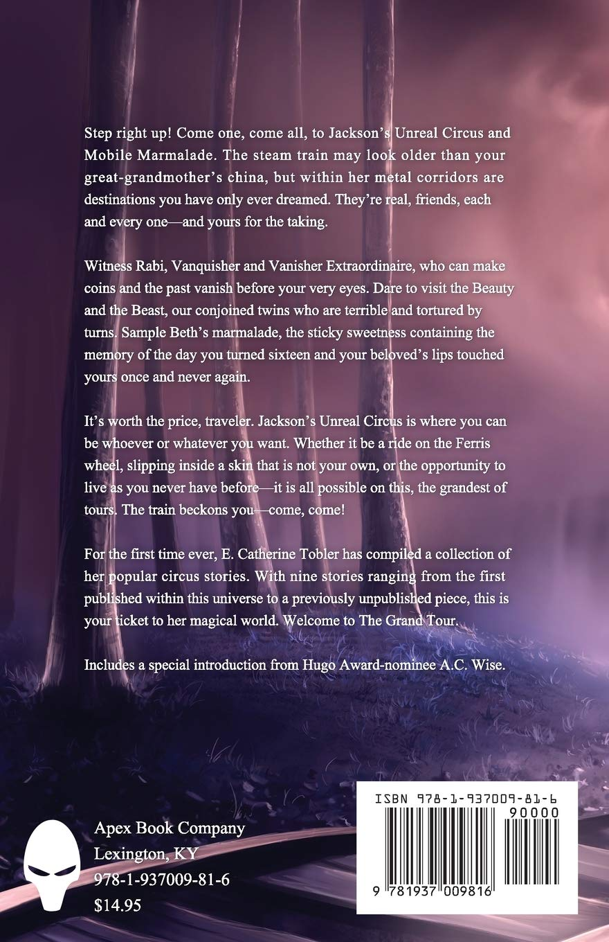 The Grand Tour by E. Catherine Tobler science fiction and fantasy book and audiobook reviews