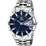 Fogg Analog Blue Day and Date Men's Watch 2038-BL