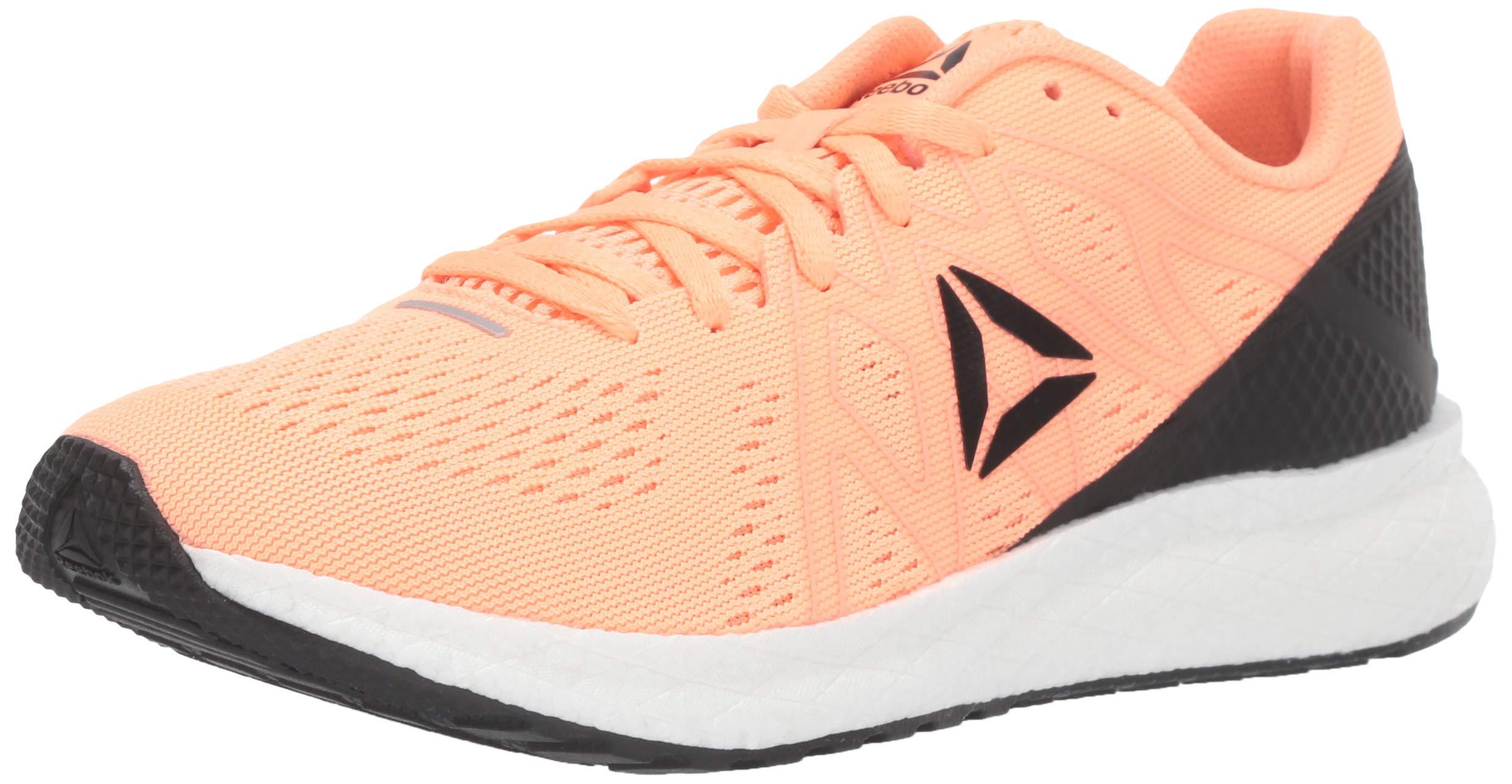 Reebok Women's Forever Floatride Energy Running Shoe, Sunglow/Black/White, 9 M US by Reebok